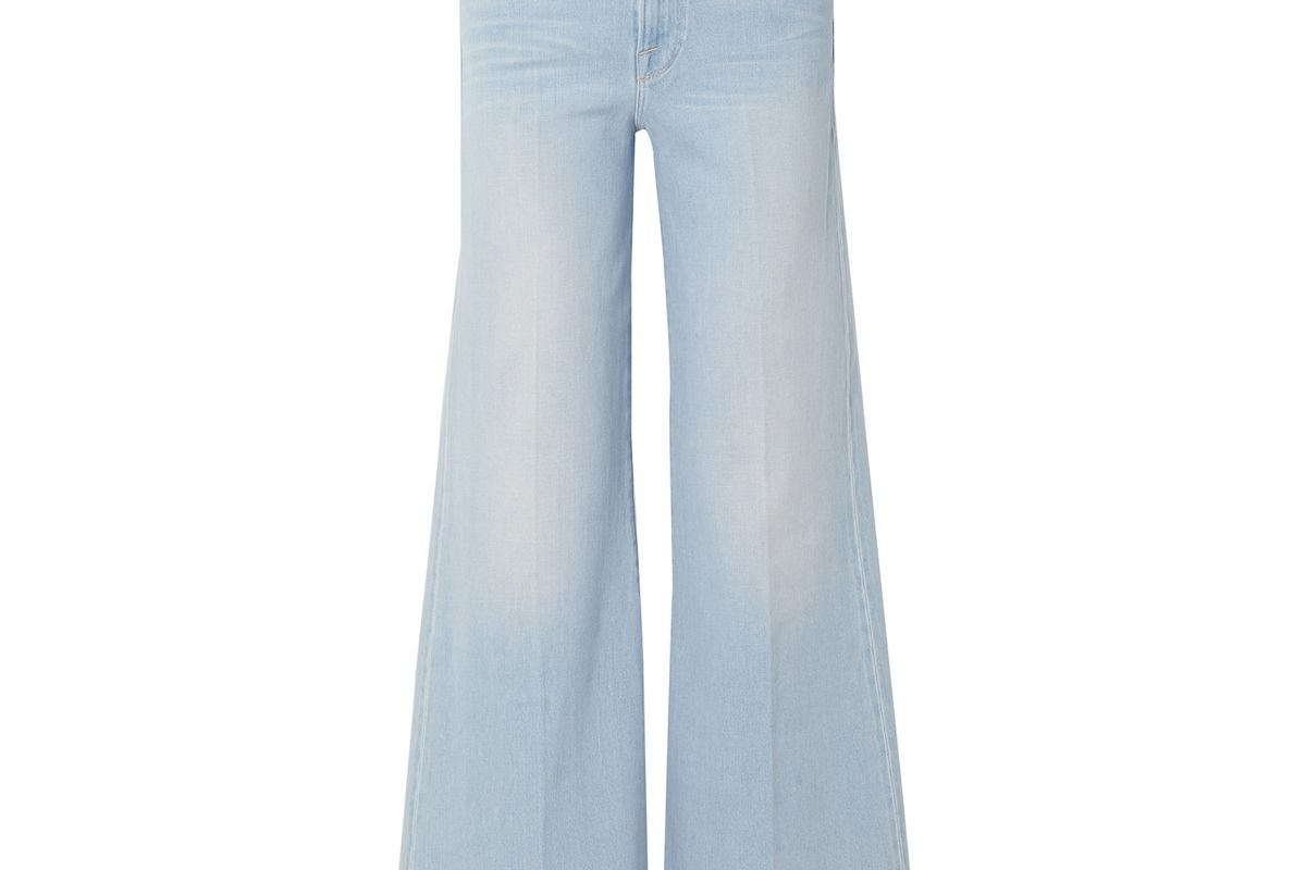 frame le palazzo high rise wide leg jeans