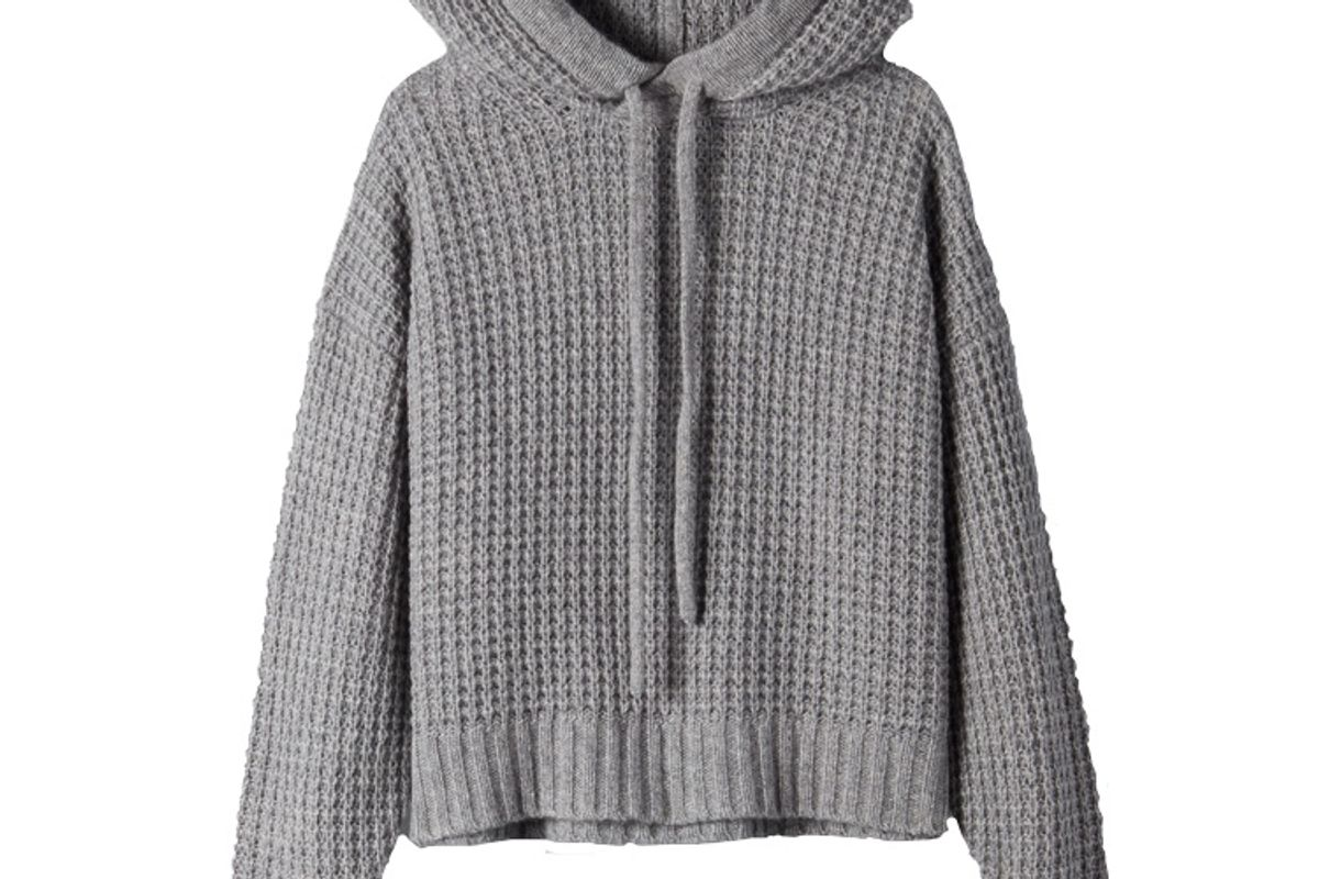 aritzia the group by babaton luxe cashmere hoodie