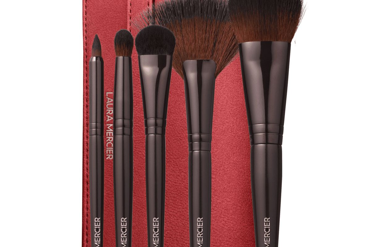 laura mercier paint the town luxe brush collection