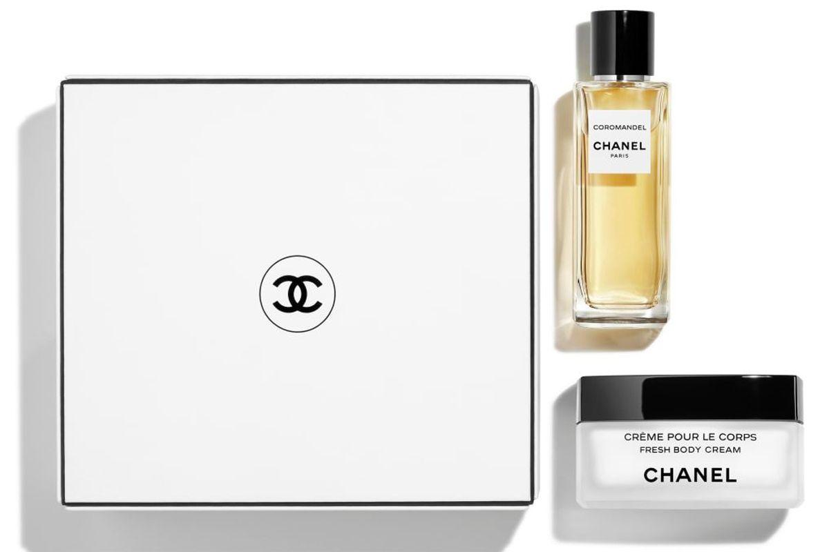 chanel coromandel les exclusifs de chanel eau de parfum 75 ml and fresh body cream coffert