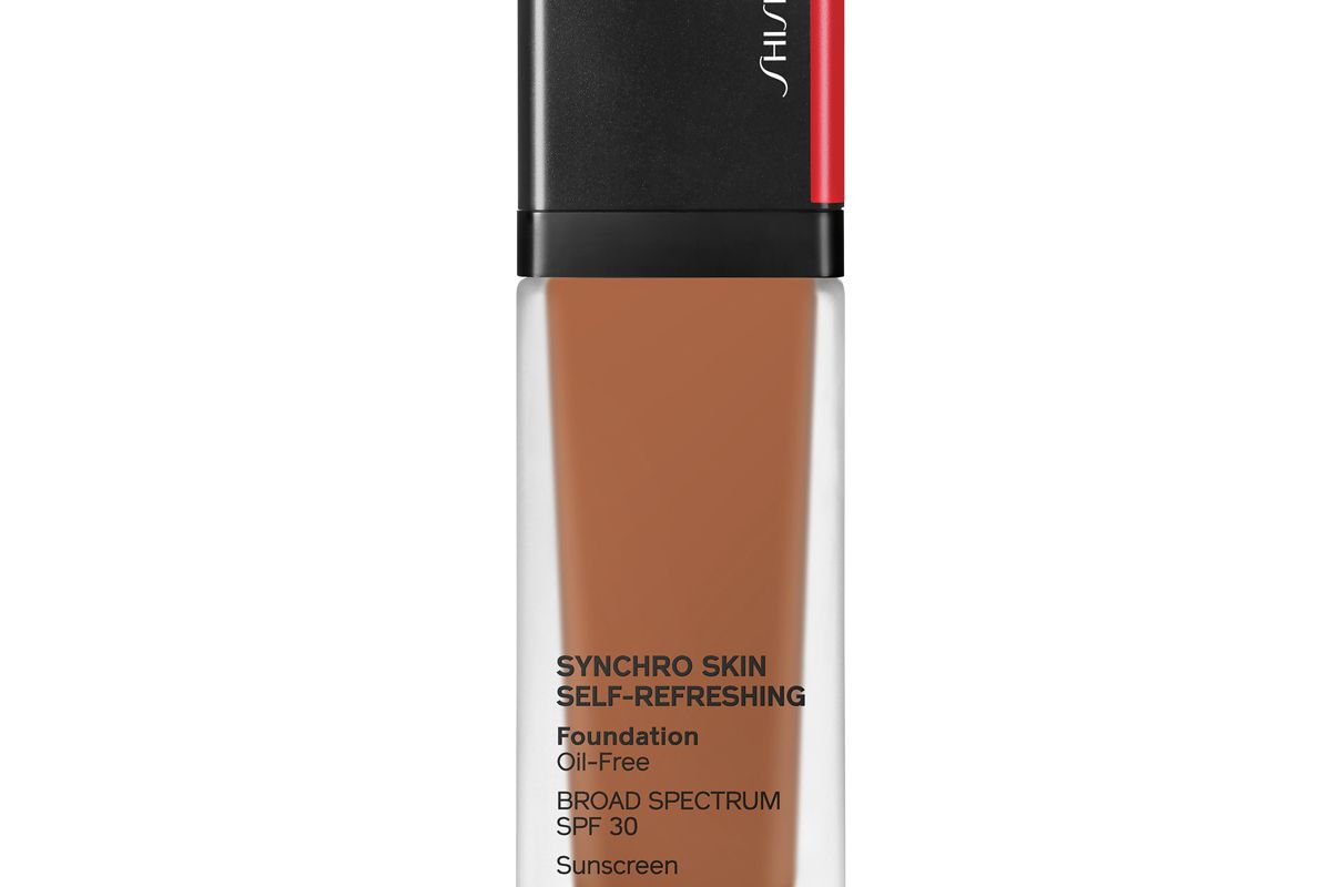 shiseido synchro skin self refreshing foundation spf 30