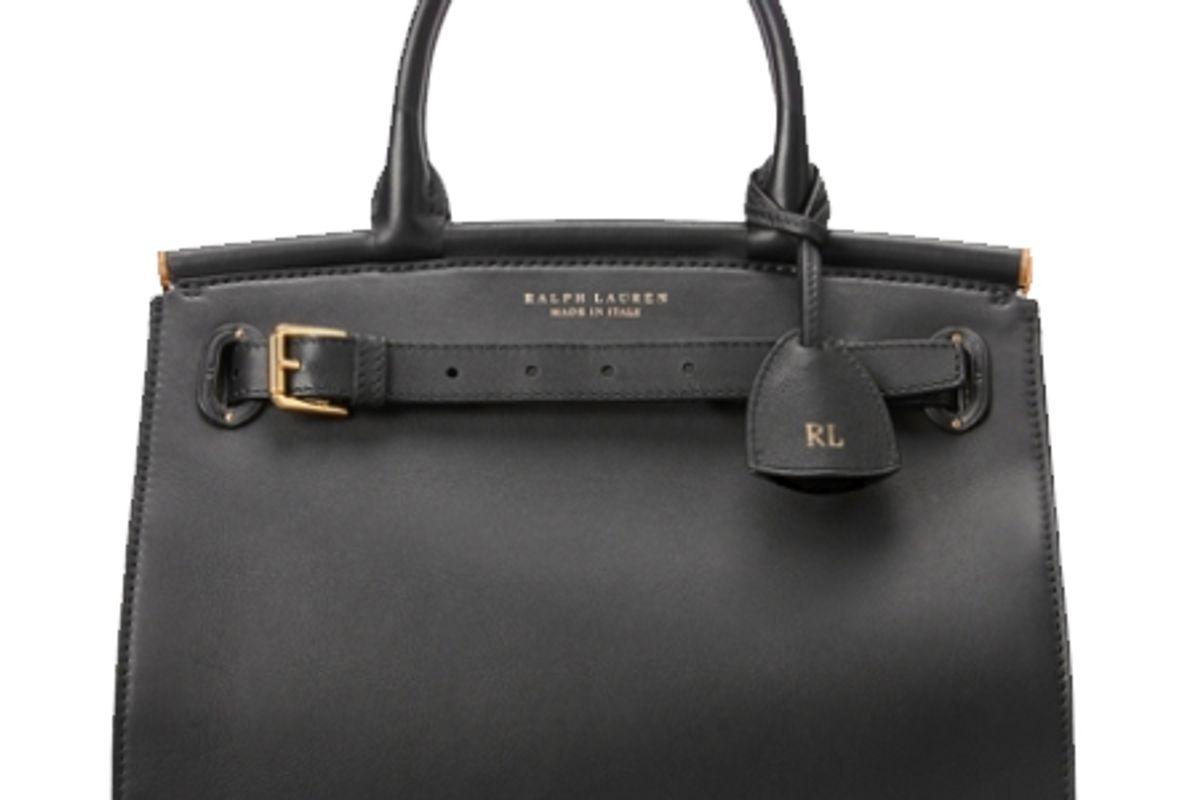 ralph lauren calfskin medium rl50 handbag