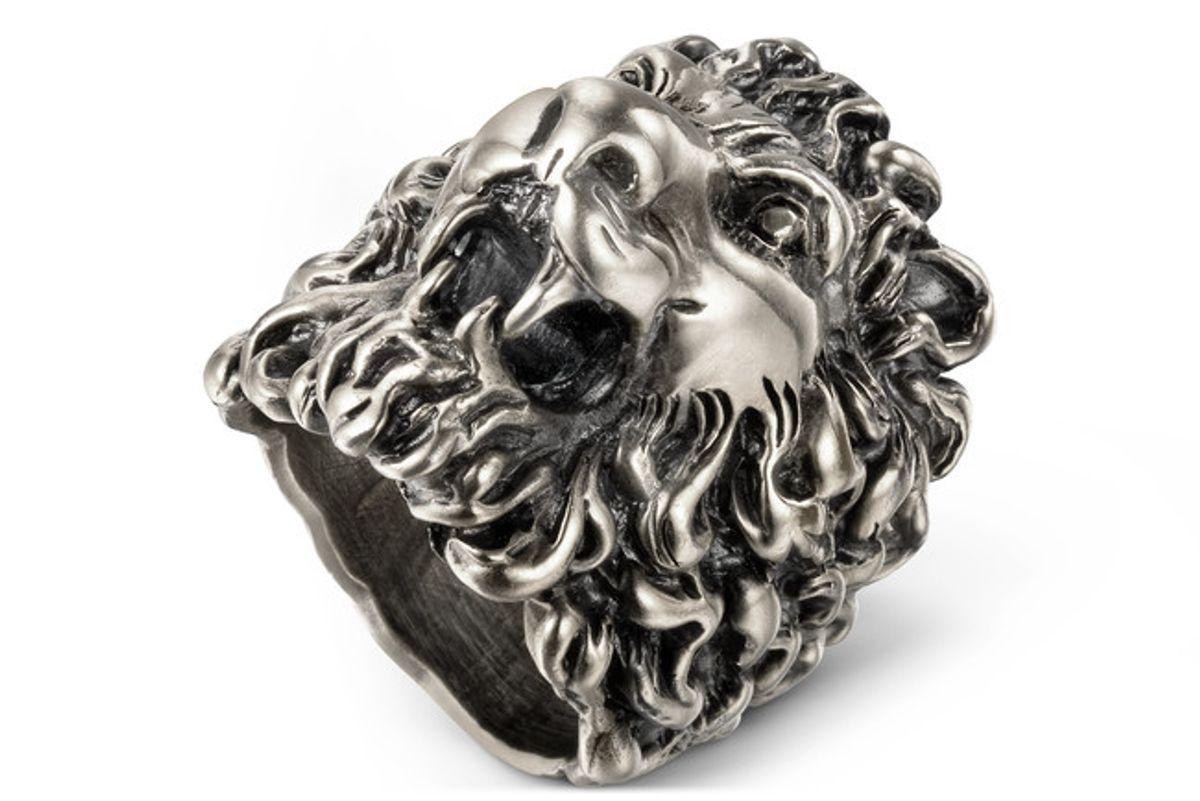 Lion Head Ring