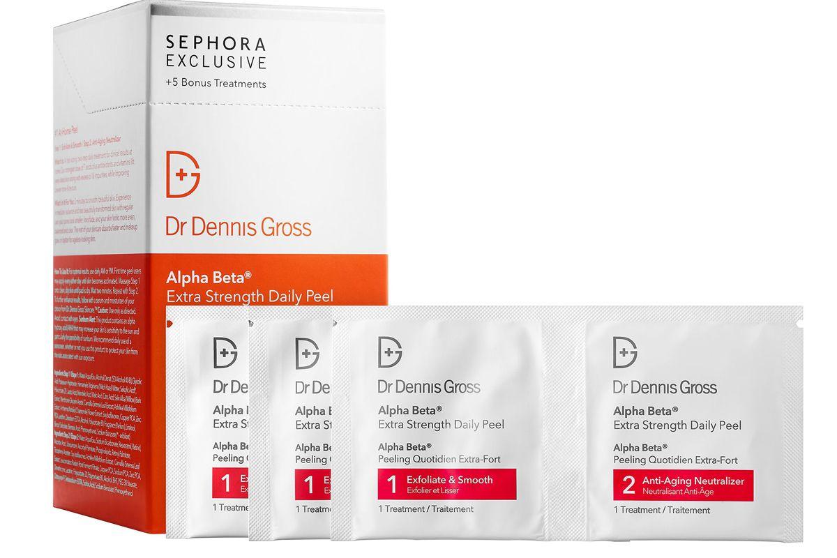 dr dennis gross skincare alpha beta extra strength daily peel