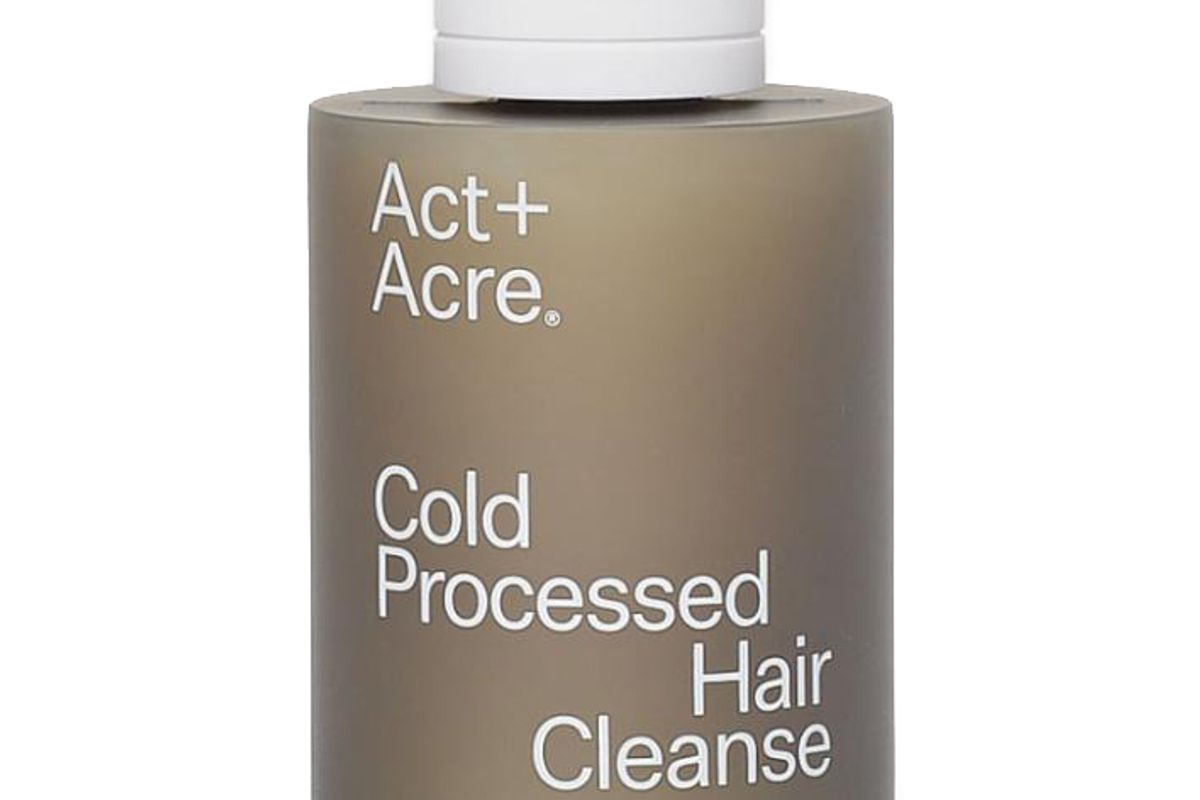 act + acre cold pressed hair cleanse
