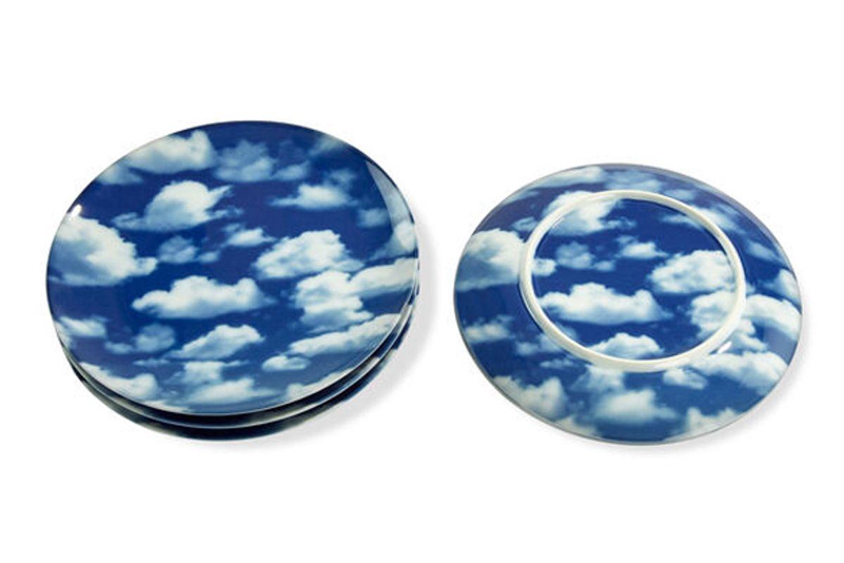 moma sky porcelain dessert plates set of 4