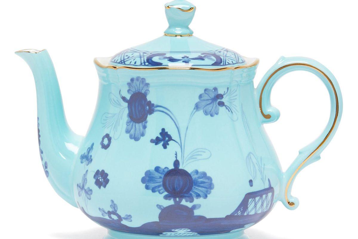 richard ginori oriente italiano porcelain tea pot