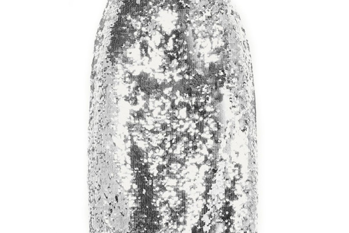 alice and olivia ramos sequined tulle skirt