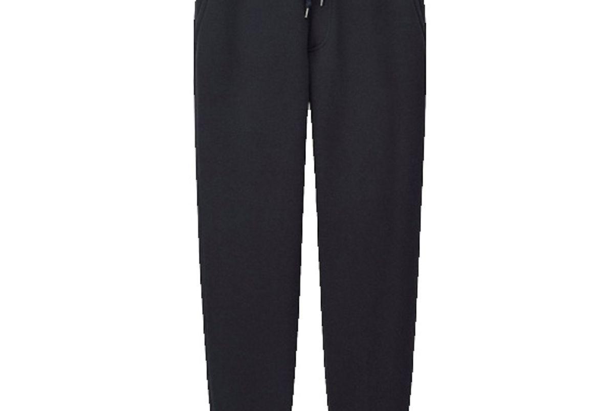 Men Pile-Lined Sweatpants