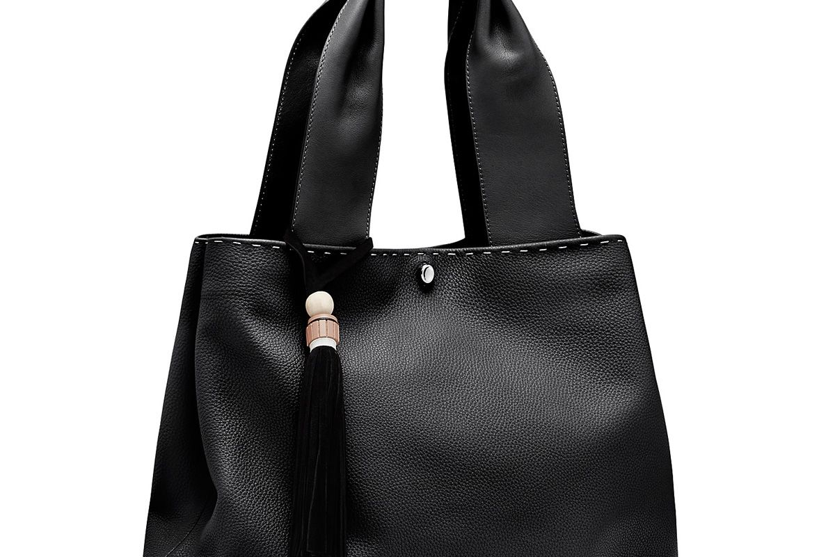 Teddy Leather Tote
