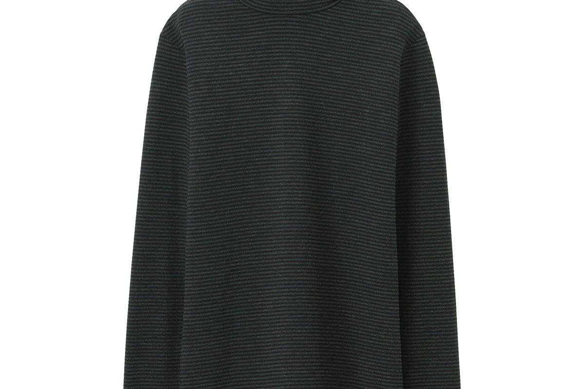 Women HEATTECH Long-Sleeve Turtleneck T-Shirt