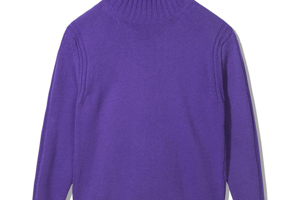 and daughter fintra lambswool tunic knit