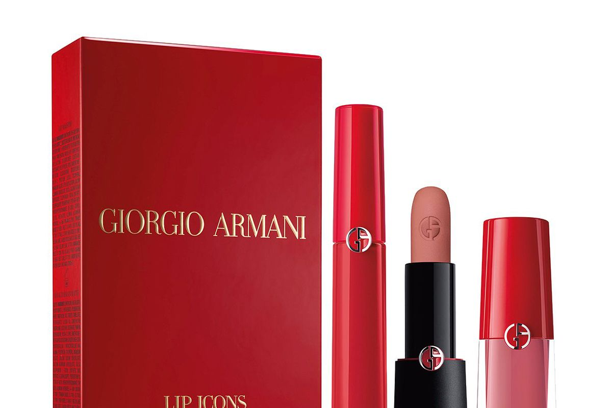 armani beauty holiday 2019 lip icons