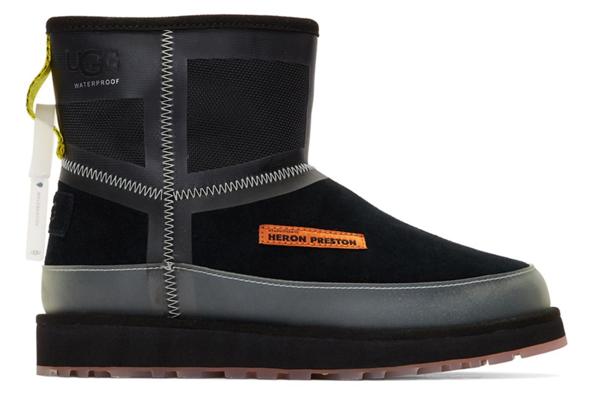 heron preston black ugg edition urban tech boots