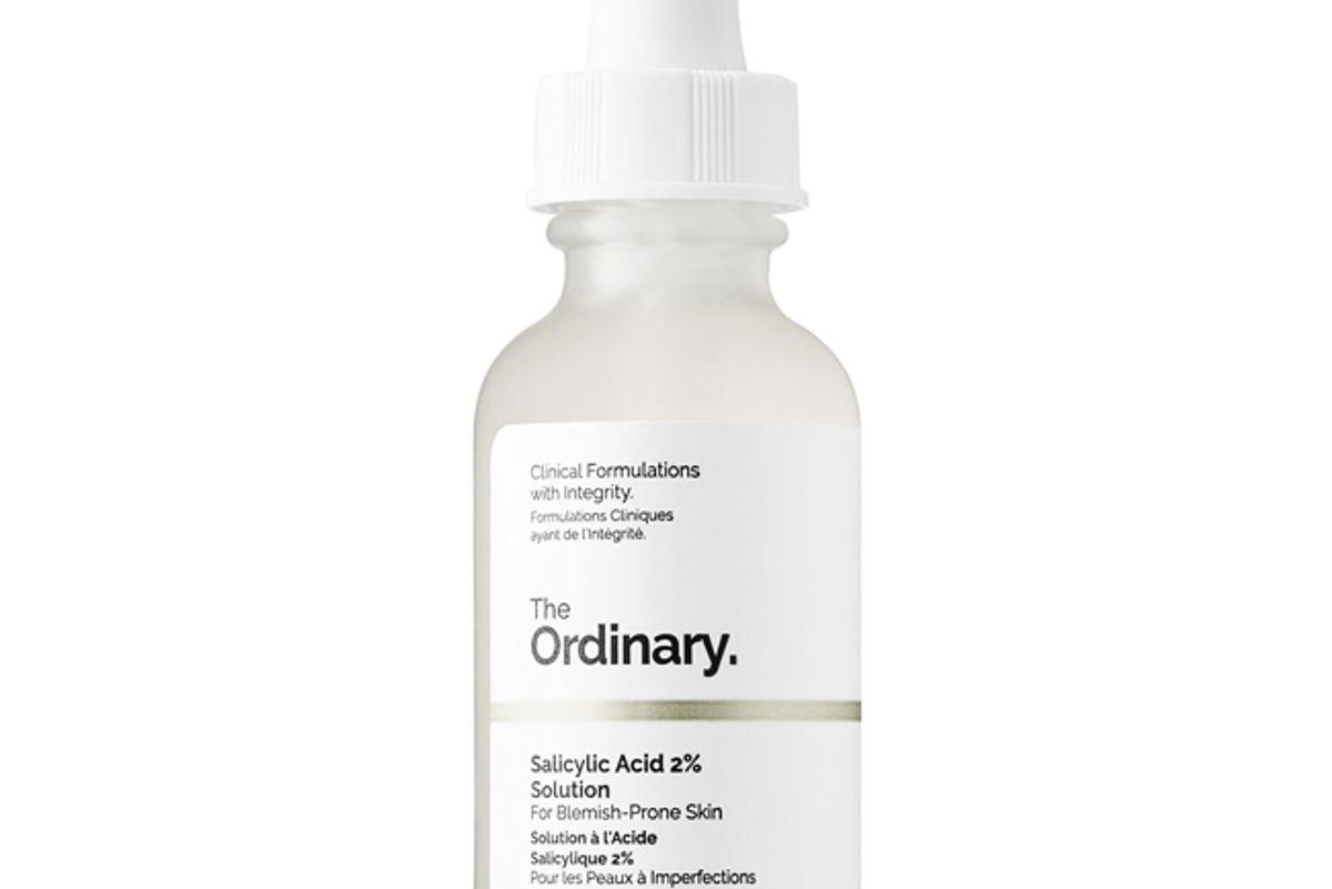 the ordinary salicylic acid 2 percent solution