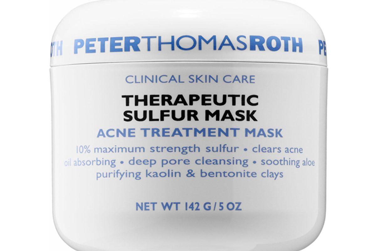peter thomas rothe therapeutic sulfur masck acne treatment mask