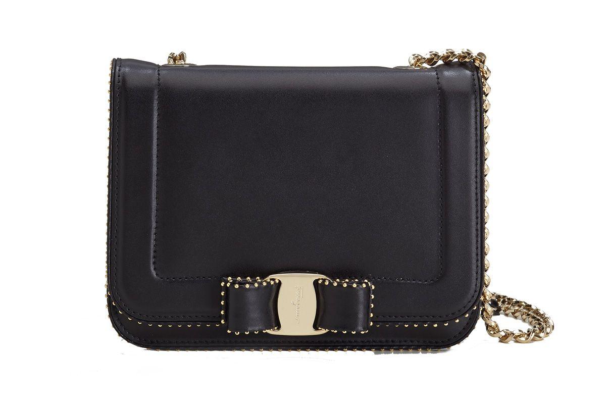 Small Vara Bow Bag in Black