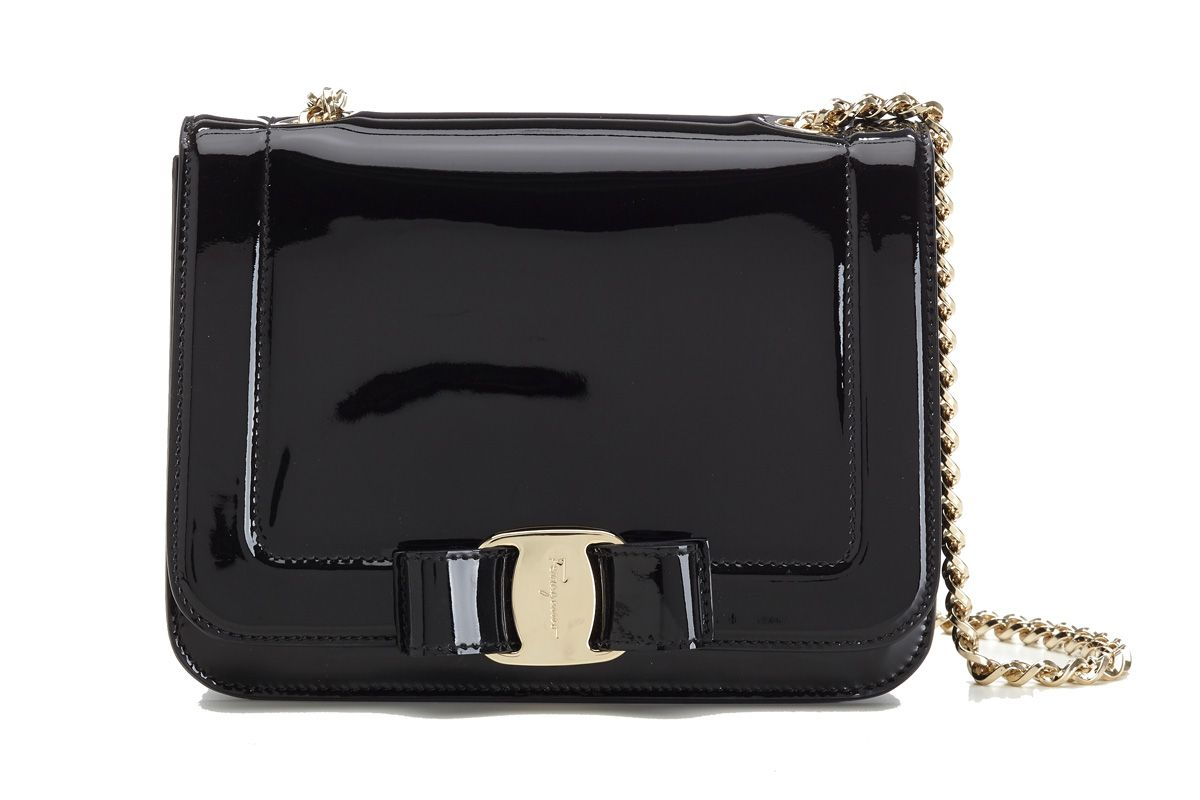 Small Vara Rainbow Bag in Black