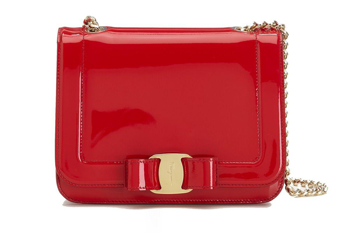 Small Vara Rainbow Bag in Red
