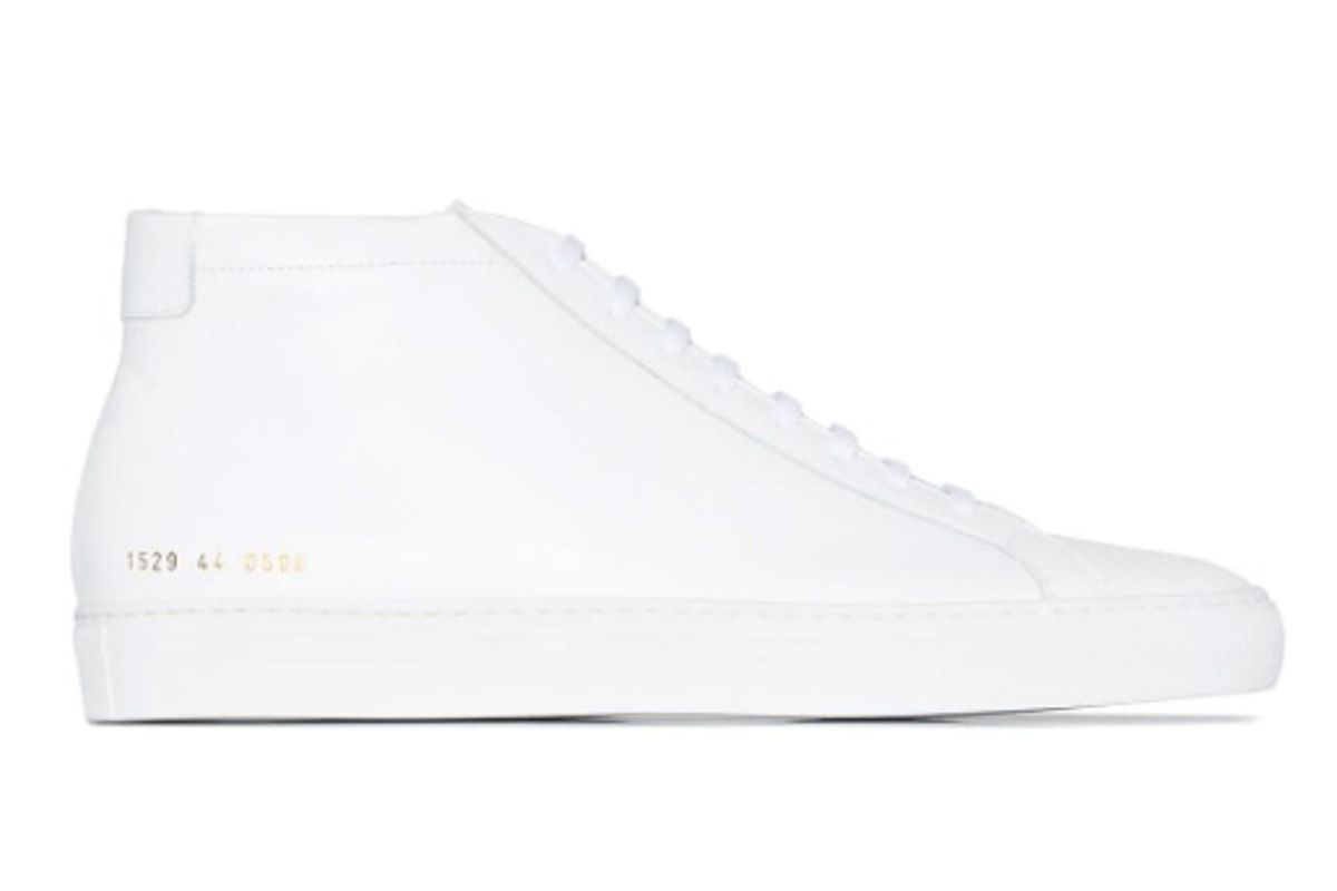common projects achilles mid top sneakers
