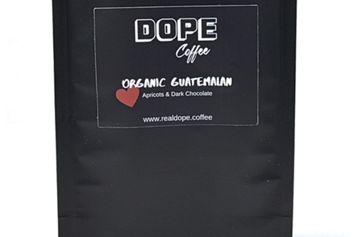 dope coffee organic guatemalan cocoa citrus blossom