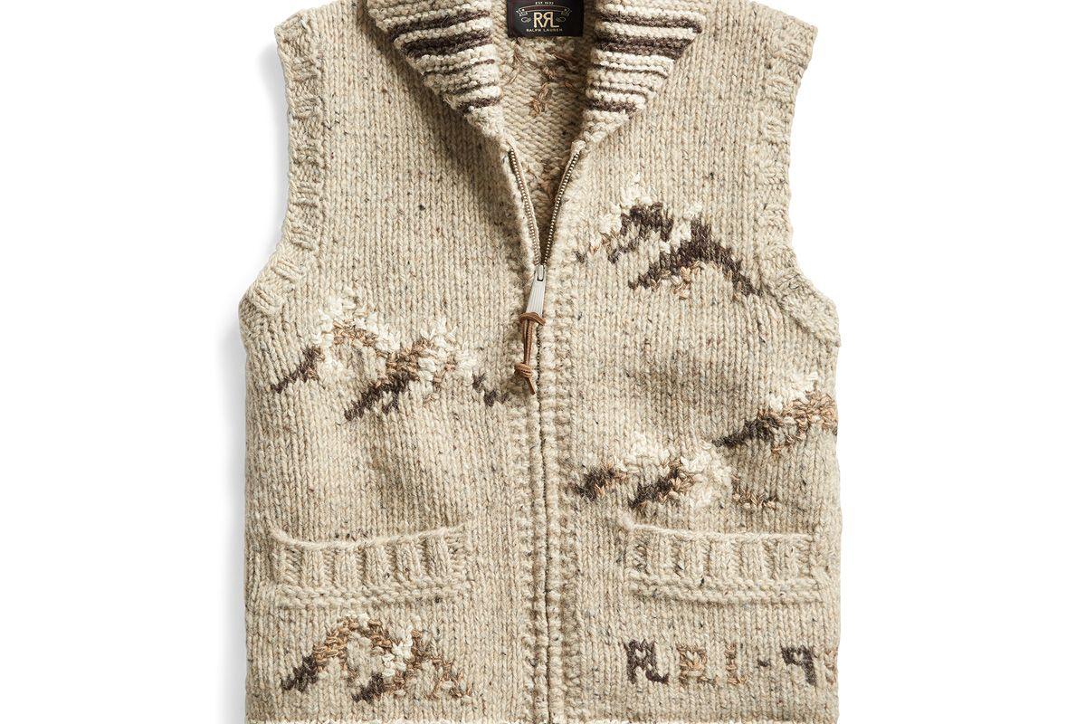 ralph ralph lauren hand knit sweater