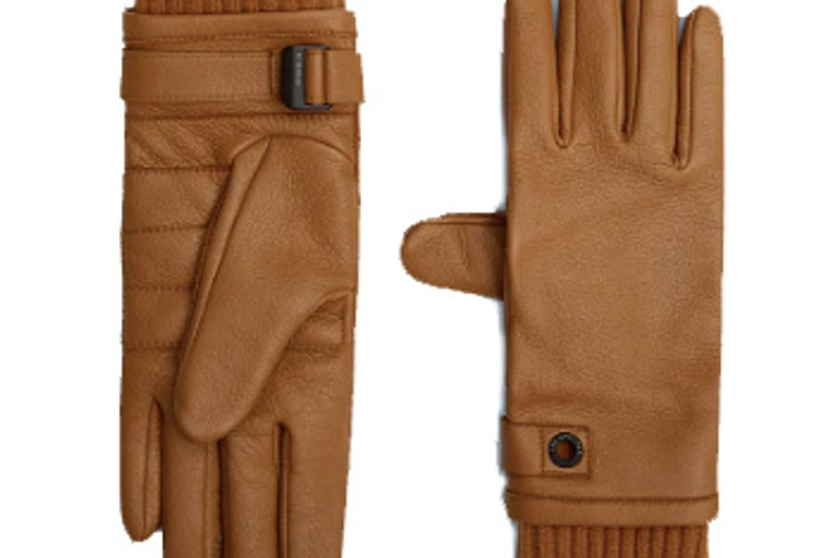 the arrivals kaia technical leather gloves