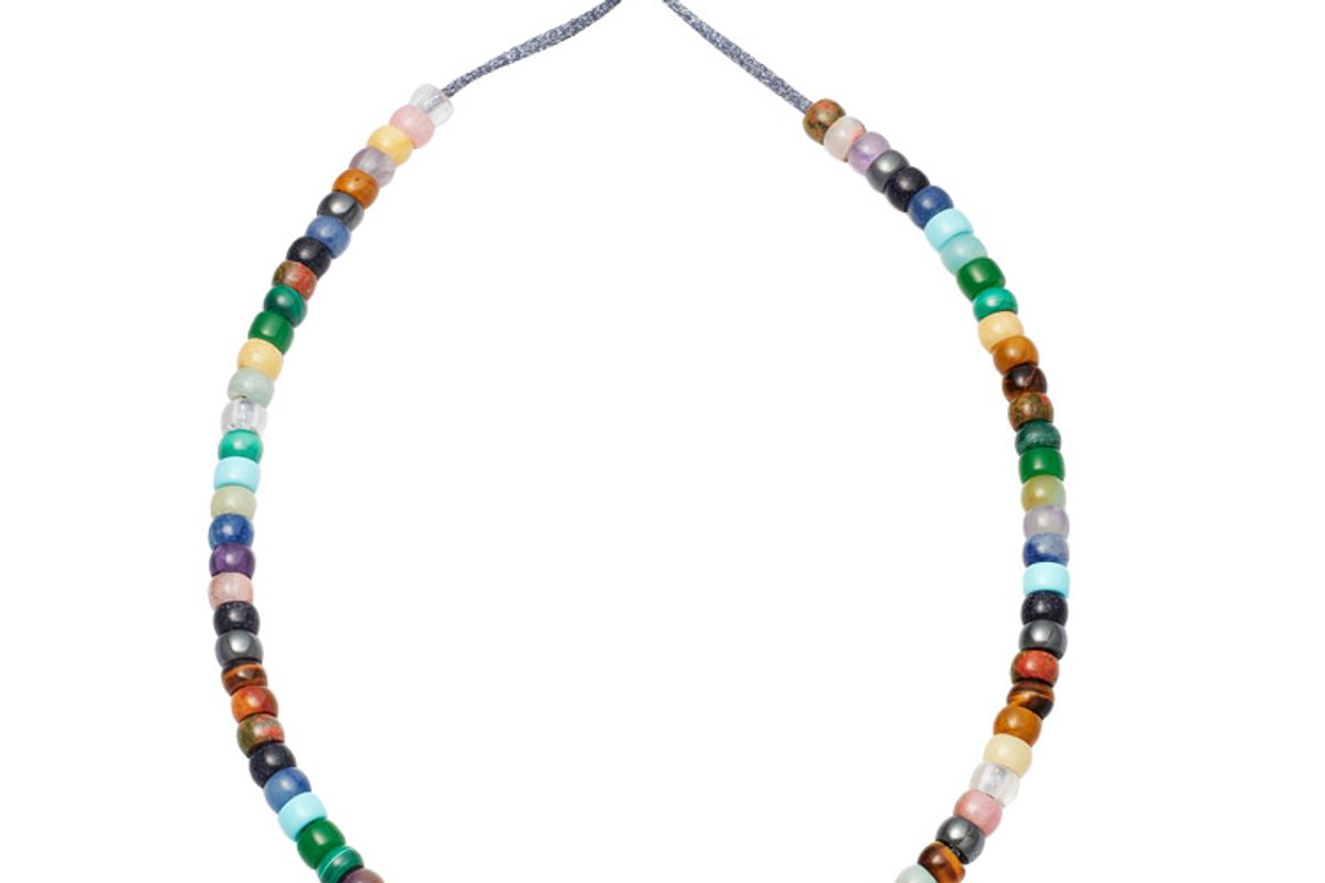 carolina bucci forte beads moonbow necklace