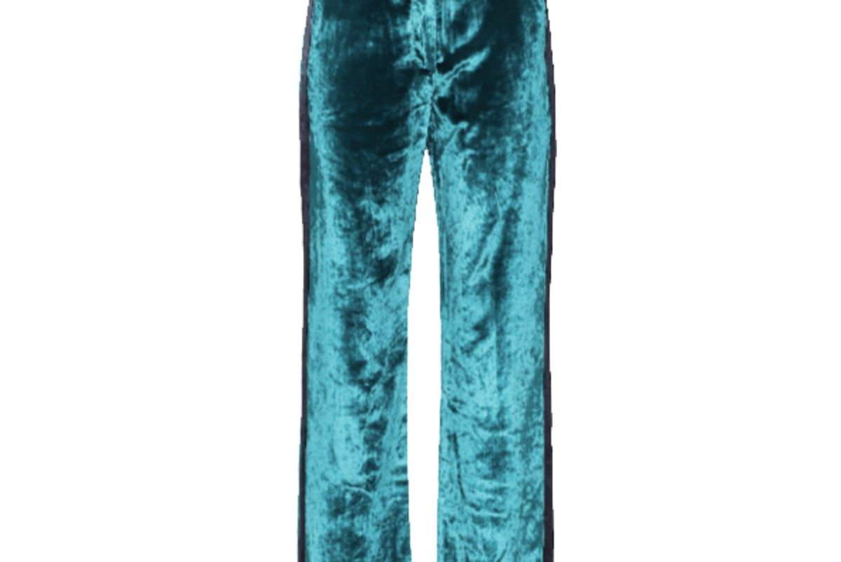 sies marjan sonya high rise velvet pants