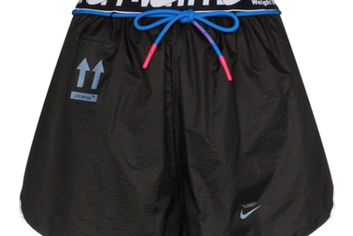 nike x off-white running shorts