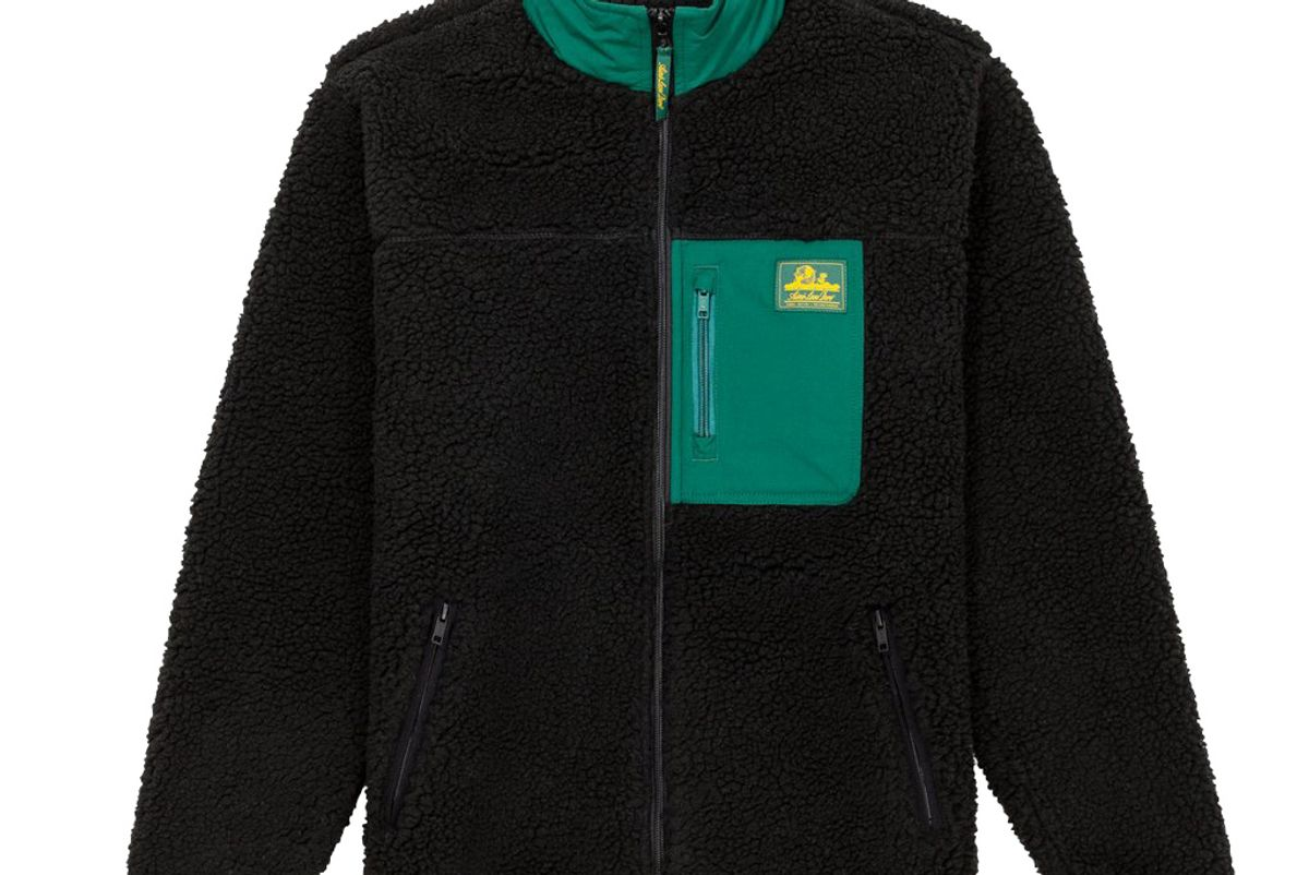 aime leon dore full zip polar fleece