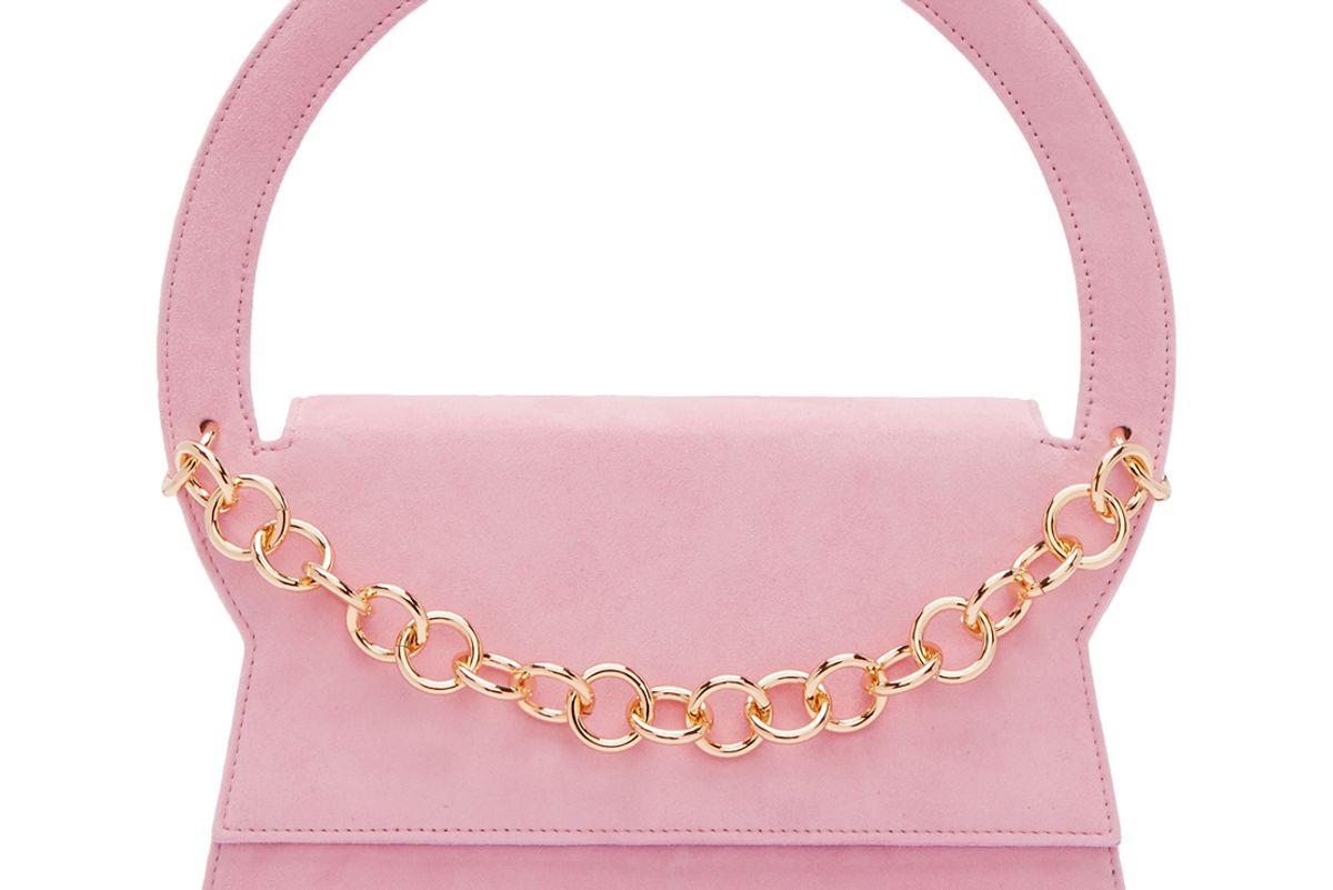 Pink Le Sac Rond Bag