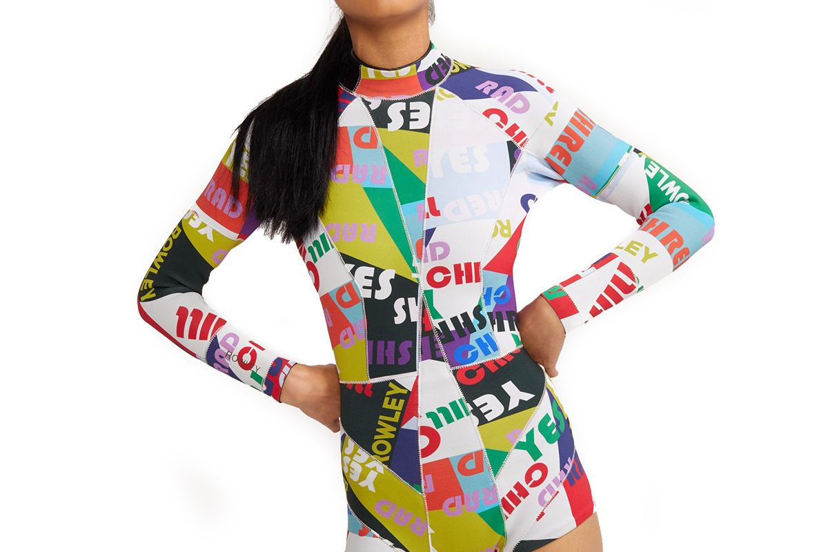 cynthia rowley good vibes high tide wetsuit