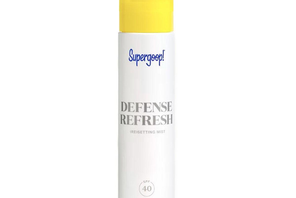 supergoop defense refresh resetting mist spf 40