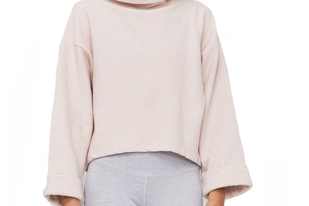 varley whitter rose sweater