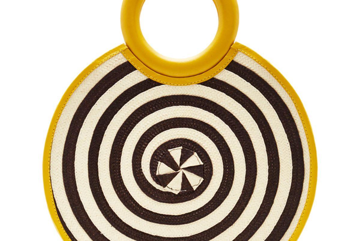 click proadriana castro zenu medium circle bag