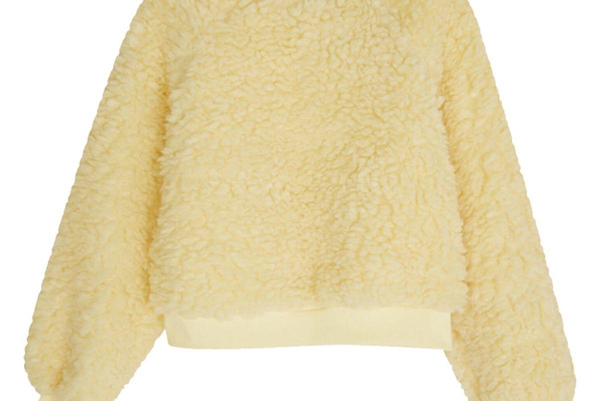 oak and fort textured sweatshirt 5424