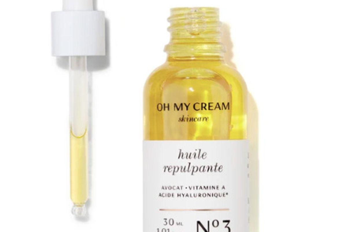 oh my cream skincare plumping oil