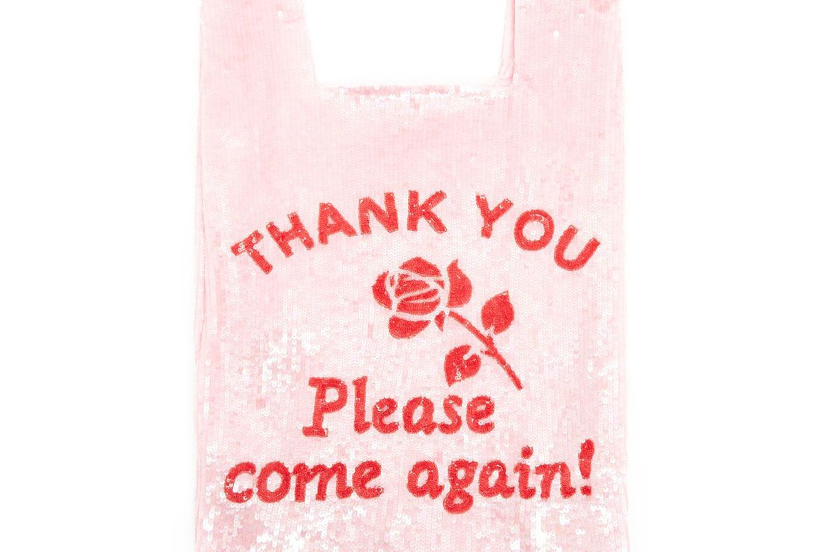 ashish thank you please come again sequinned bag