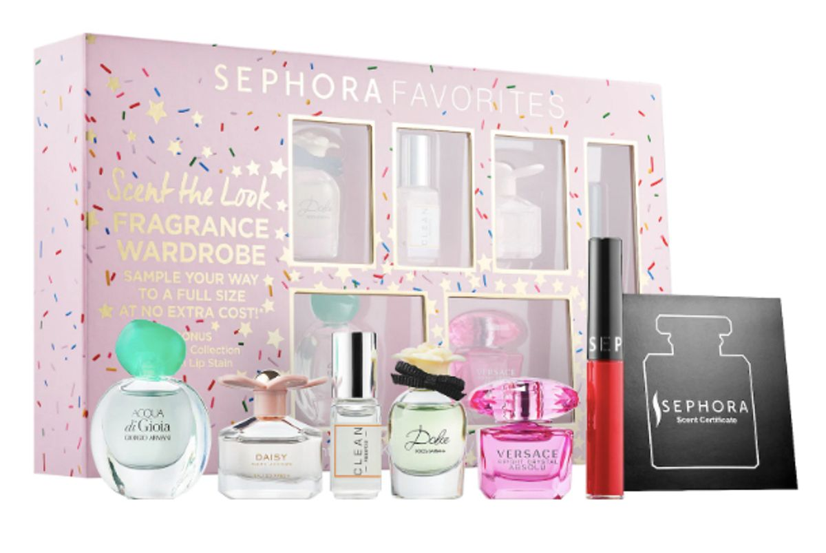 sephora favorites scent the look mini perfume sampler set