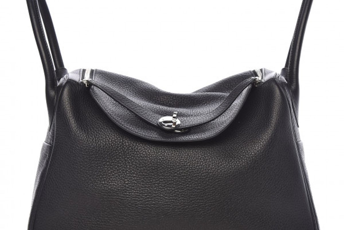 hermes taurillon clemence lindy 34