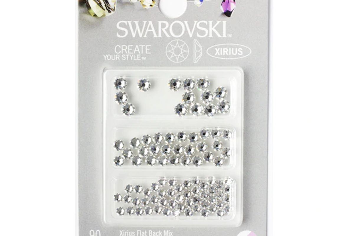 swarovski create your style xirius nail combo crystals navette