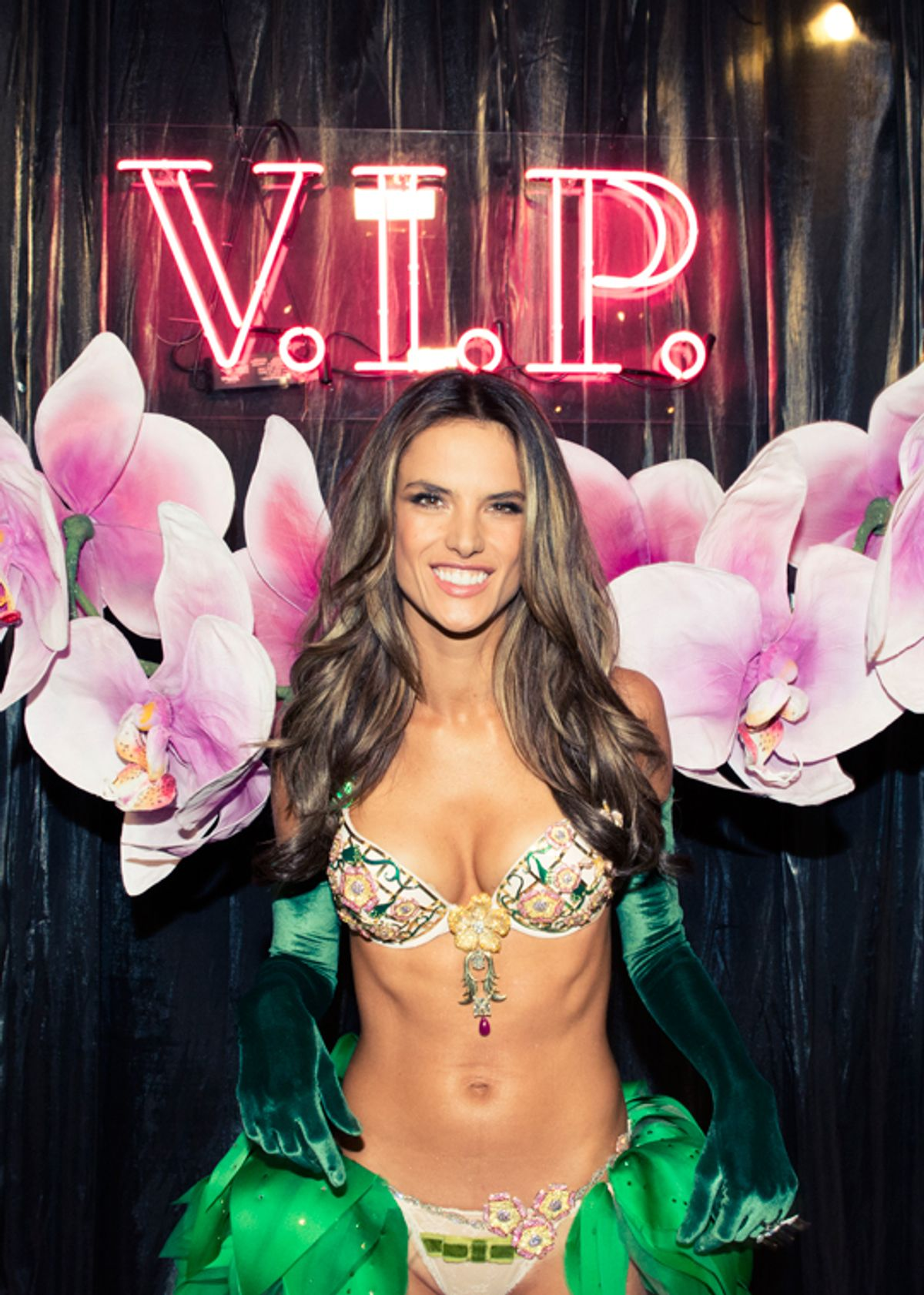 Alessandra Ambrosio & The Victoria's Secret Angels