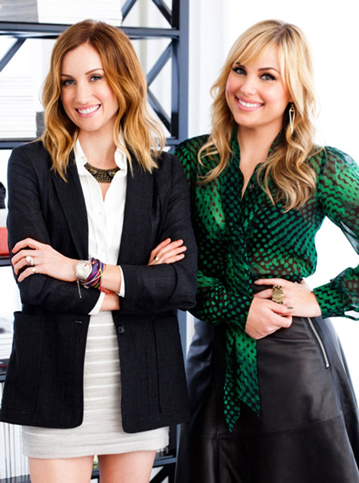 Fashion Offices with WWW: Katherine Power & Hilary Kerr