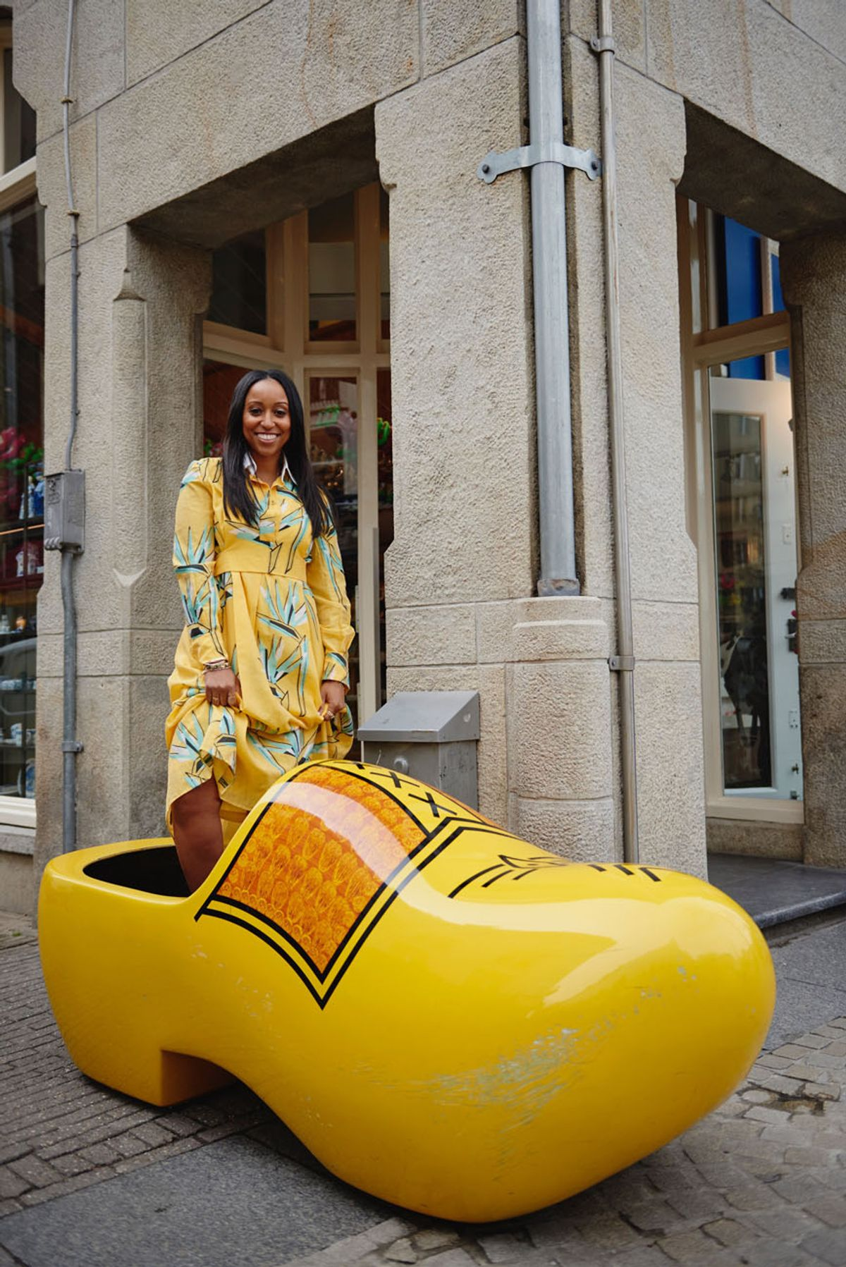 Shiona Turini Takes Amsterdam (With Pharrell!)