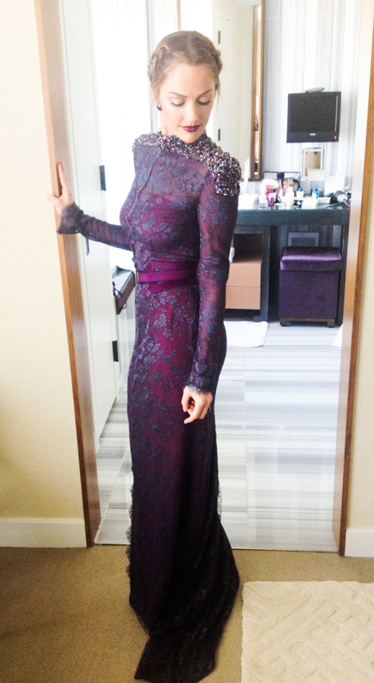 Minka Kelly at Met Gala 2013