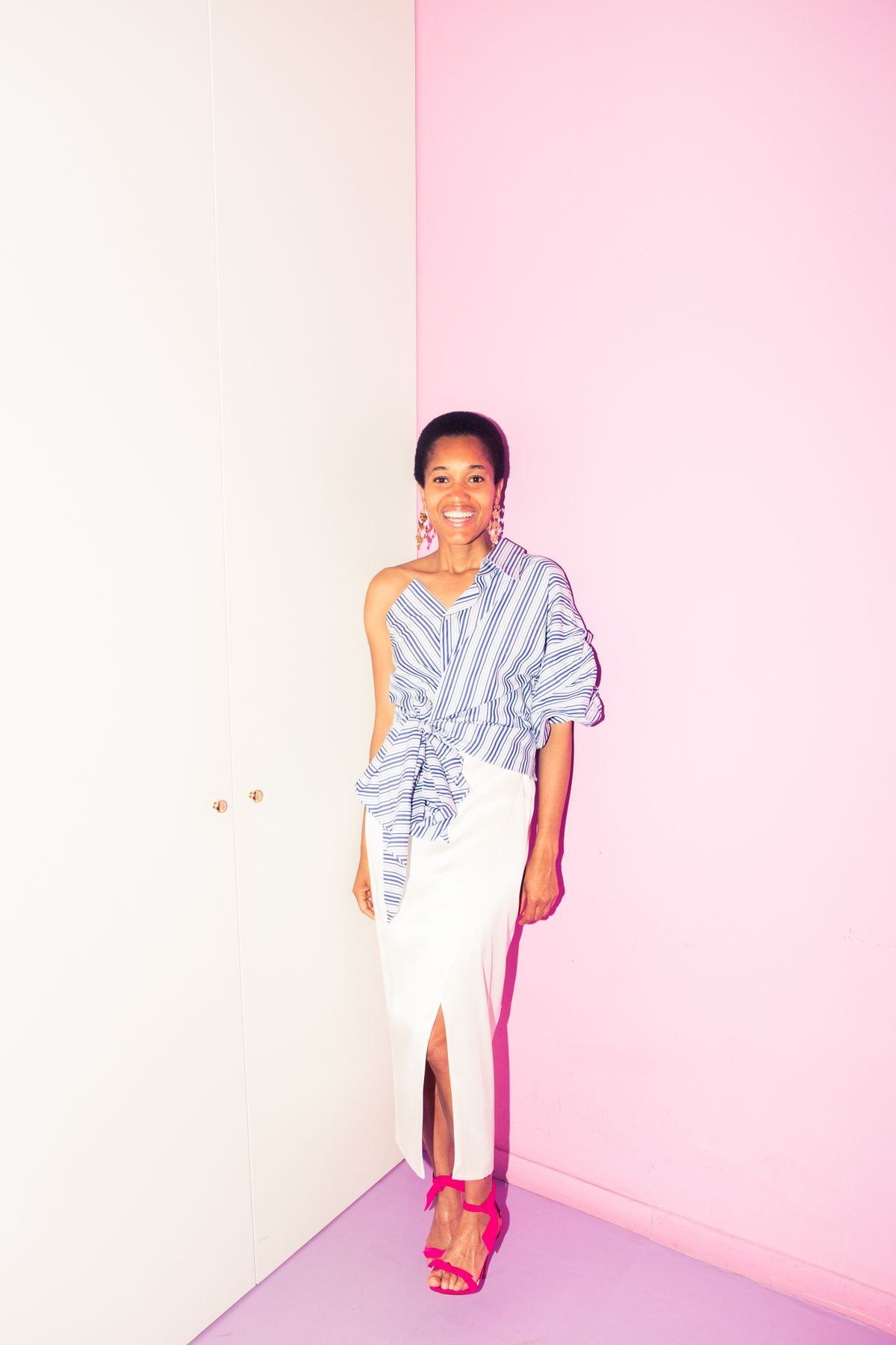 Tamu McPherson's Pink-Walled Closet Is Like an Archive of Old Céline