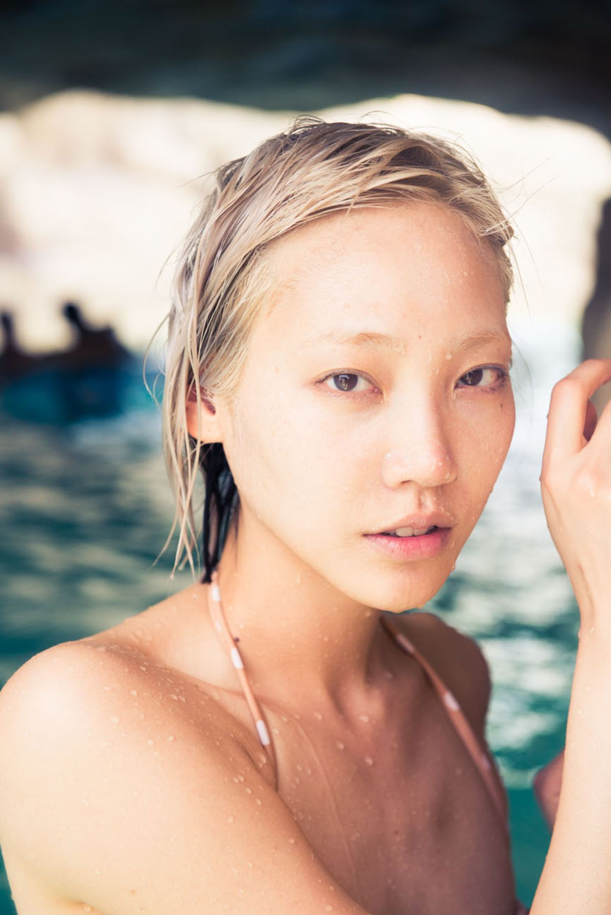 Swimming with Soo Joo