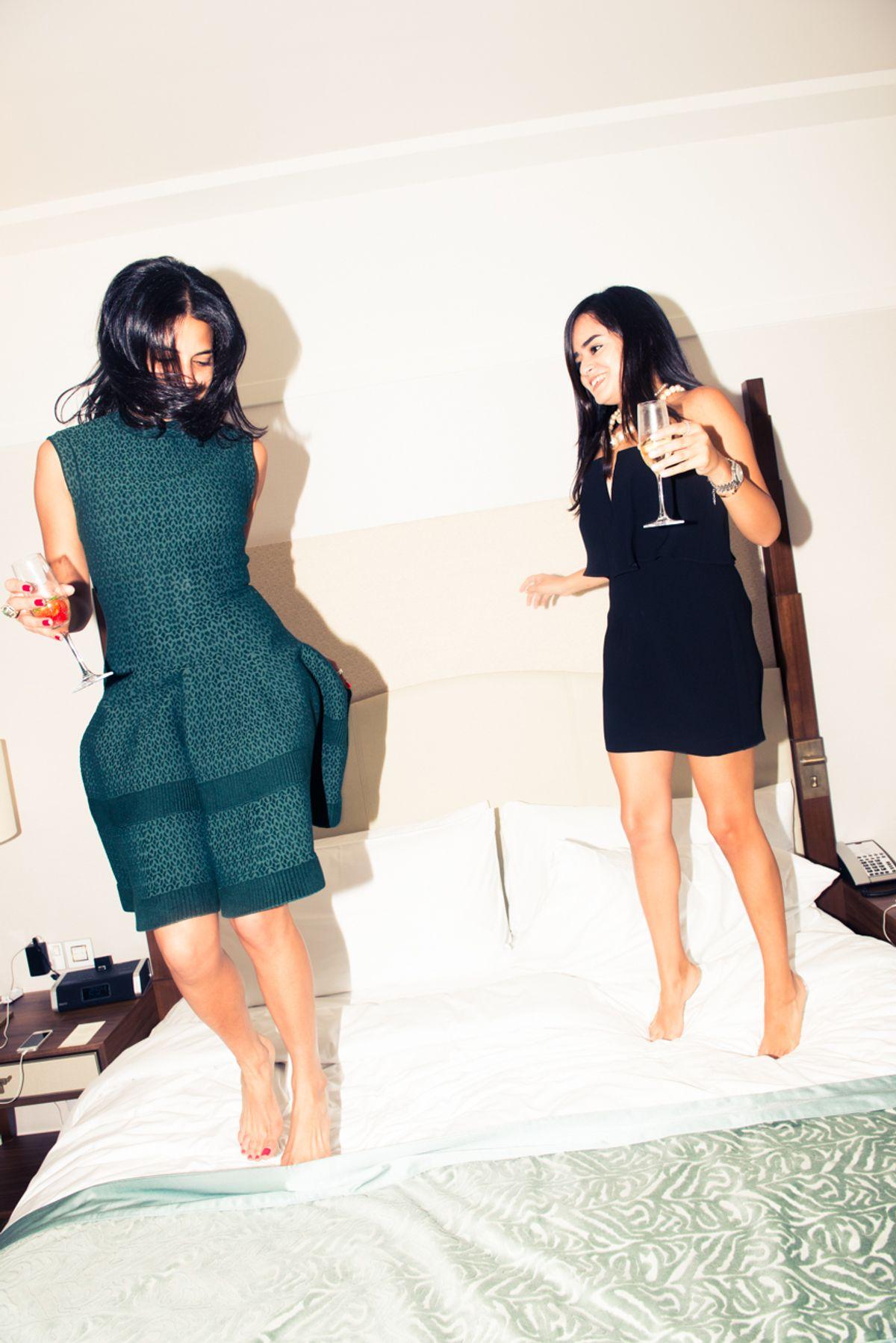 Lilian Afshar & Haya Maraka