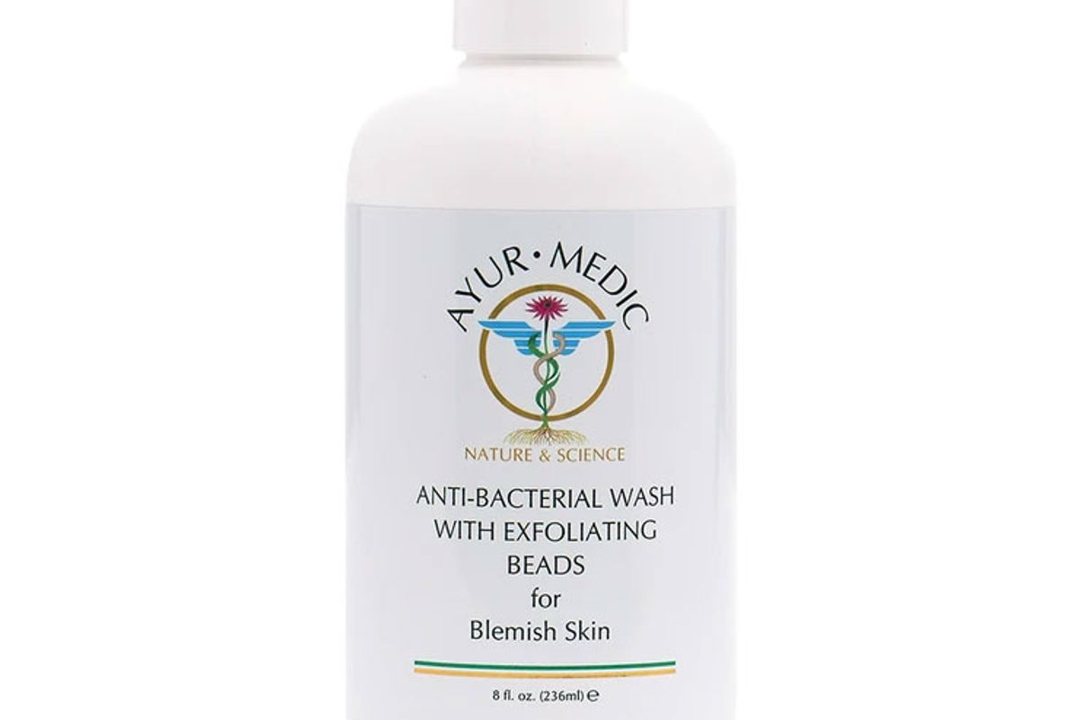 ayur medic anti bacterial wash with exfoliating beads